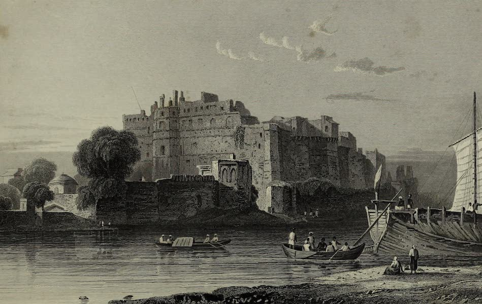 Views in India, China, and on the Shores of the Red Sea - An Old Fort at Muttra (1835)