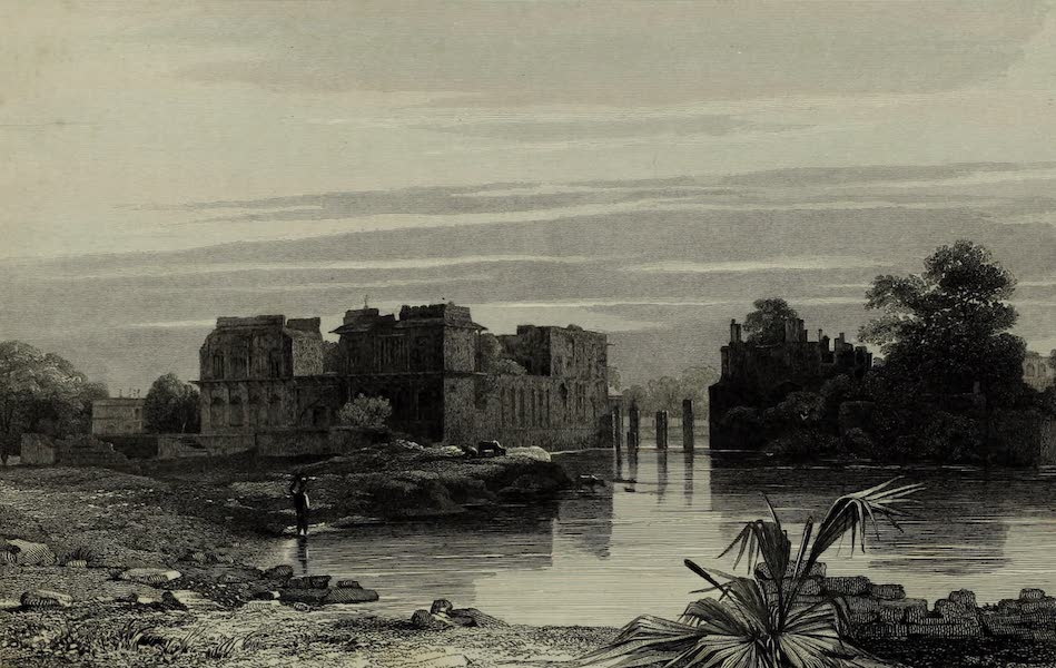 Views in India, China, and on the Shores of the Red Sea - Assar Mahal, Beejapore (1835)