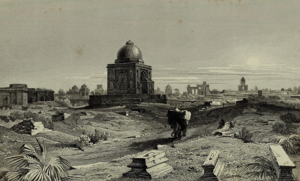 Views in India, China, and on the Shores of the Red Sea - Ruins, South Side of Old Delhi (1835)