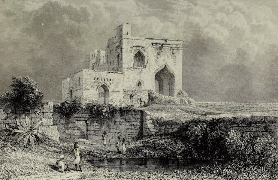 Views in India, China, and on the Shores of the Red Sea - Singham Mahal Torway, Bejapore (1835)