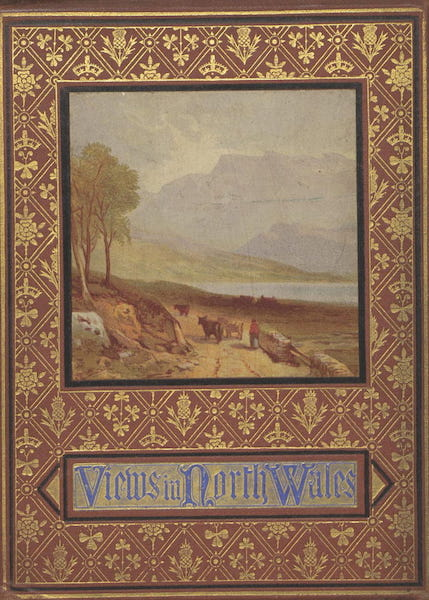 Views in North Wales - Front Cover (1875)