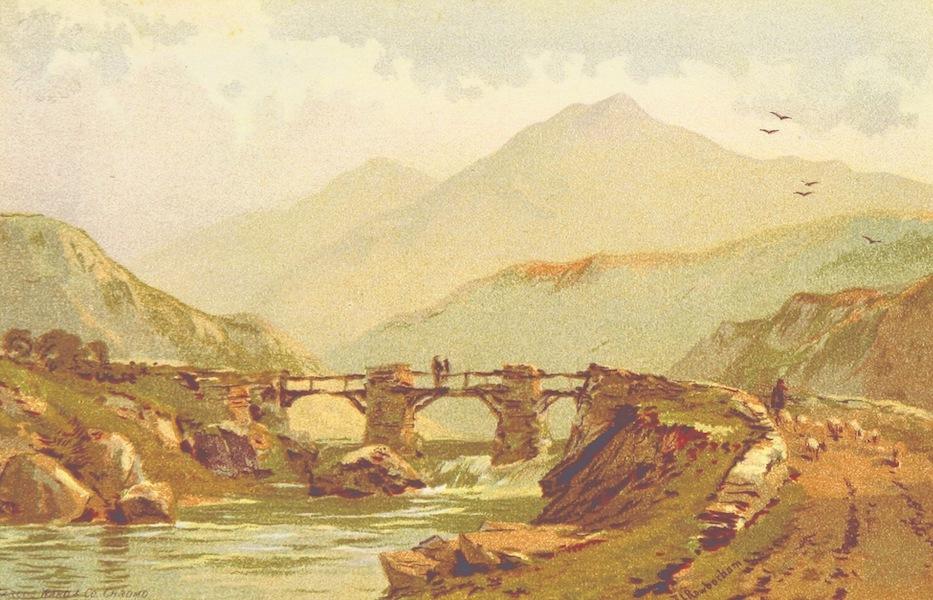 Views in North Wales - Snowdon (1875)