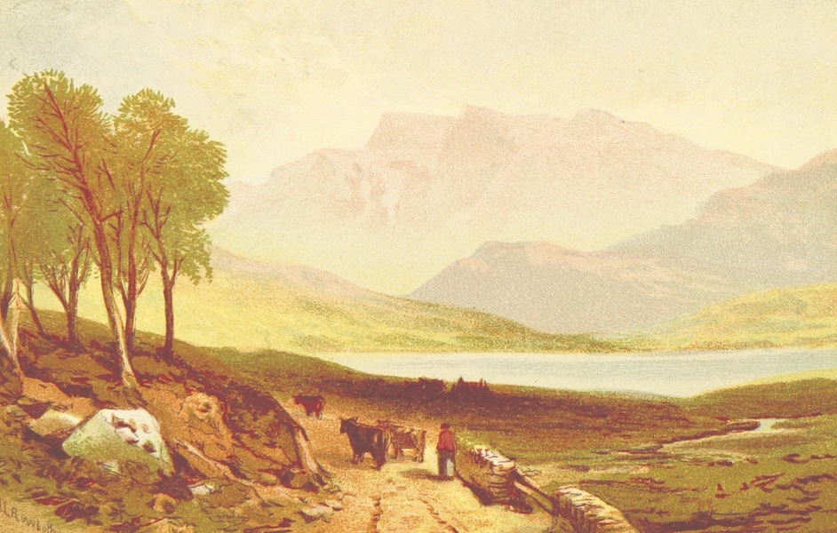 Views in North Wales - Cader Idris from the Barmouth Road (1875)