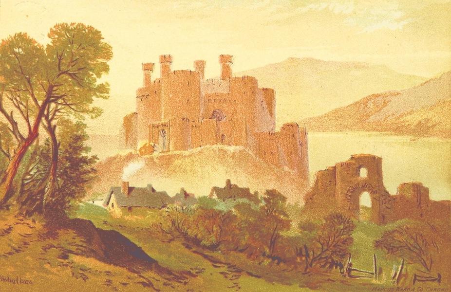 Views in North Wales - Conway Castle (1875)