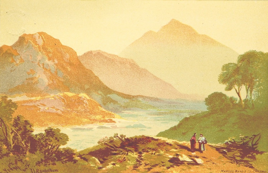 Views in North Wales - Moel Siabod from Bettys-Y-Coed (1875)