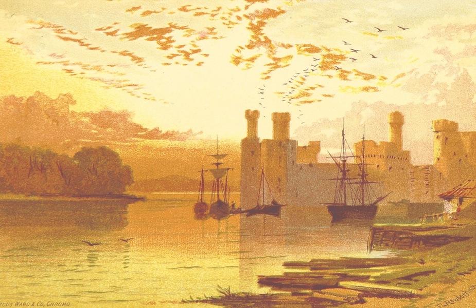 Views in North Wales - Caernarvon Castle (1875)