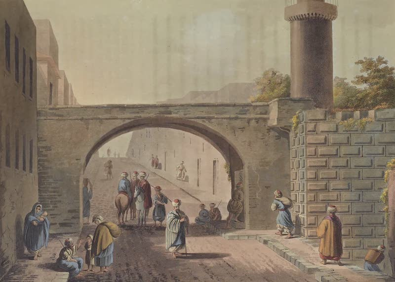 Views in Palestine - Remains of a Tower on Mount Zion (1804)