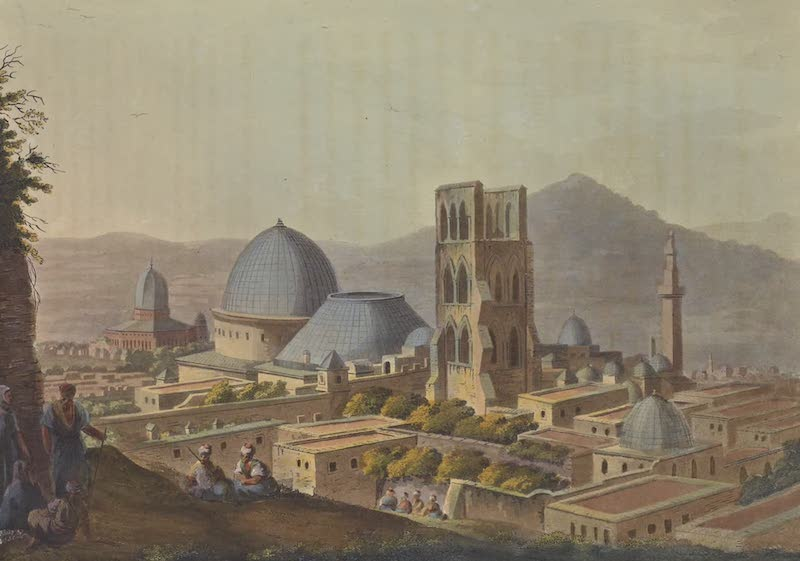 Views in Palestine - Jerusalem with the Church of the Holy Sepulchre (1804)