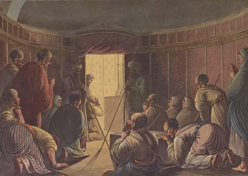 Views in Palestine - Entrance to the Sepulchres of the Kings of Judah (1804)