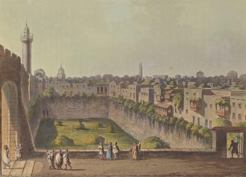 Views in Palestine - Pool of Bethesda, Jerusalem (1804)