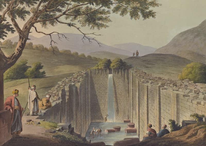 Views in Palestine - Fountain of Siloam near Jerusalem (1804)