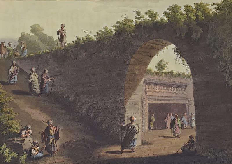 Views in Palestine - Sepulchres of the Kings of Judah (1804)