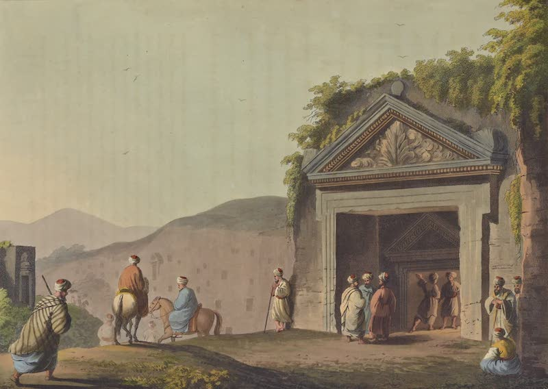 Views in Palestine - Sepulchres of the Judges of Israel (1804)