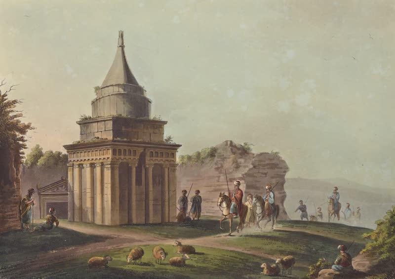 Views in Palestine - The Sepulchre of Absalom (1804)