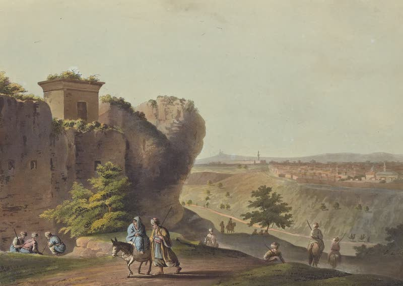 Views in Palestine - Tomb in the Valley of Jehosophat (1804)