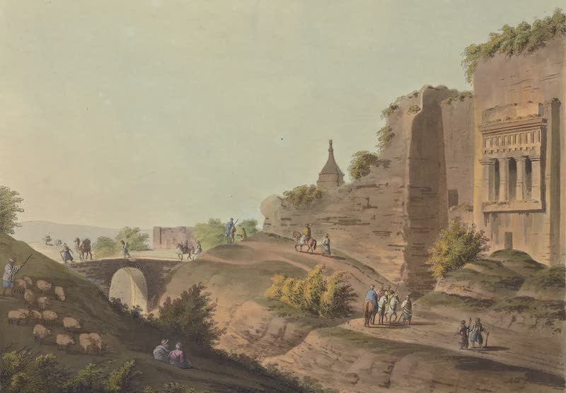 Views in Palestine - Bridge over the Brook Kedron (1804)