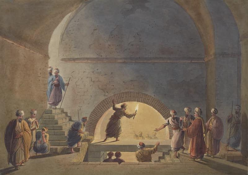 Views in Palestine - Sepulchral Chamber near Bethany (1804)