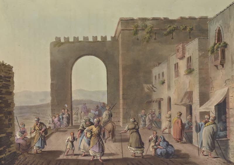 Views in Palestine - The Principal Street in Betlehem (1804)