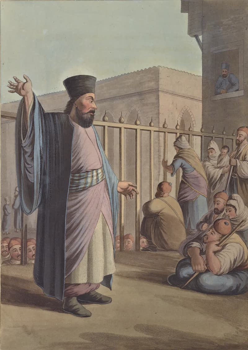 Views in Palestine - A Greek Caloyer (1804)