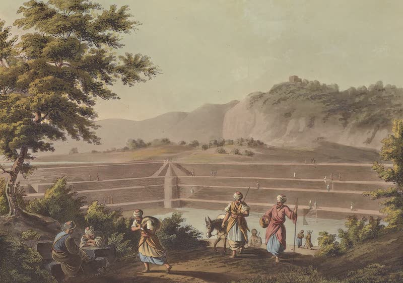 Views in Palestine - Reservoir of the Sealed Fountain near Bethlehem (1804)