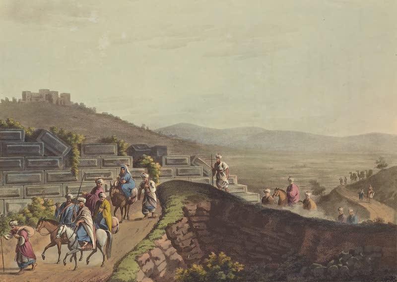 Views in Palestine - Ruins between Ramah & Jerusalem (1804)