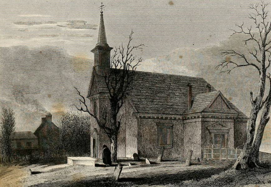 Views in Philadelphia and its vicinity - Swedish Lutheran Church (1827)