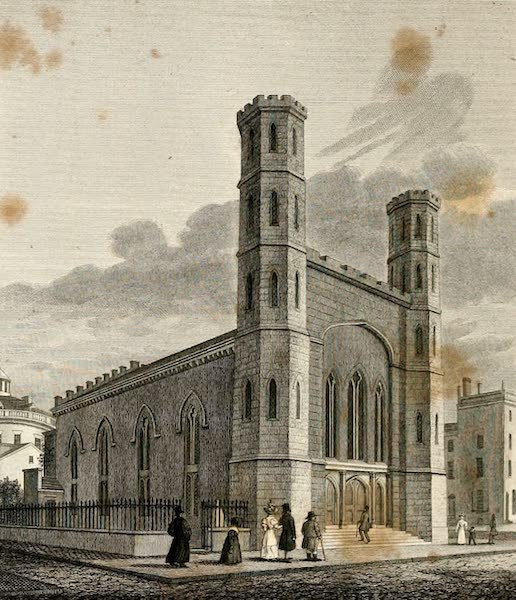 Views in Philadelphia and its vicinity - Saint Stephens Church (1827)