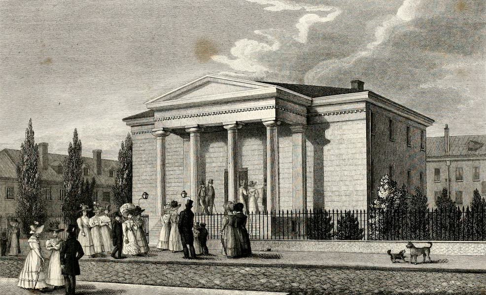Views in Philadelphia and its vicinity - First Congregational Unitarian Church (1827)