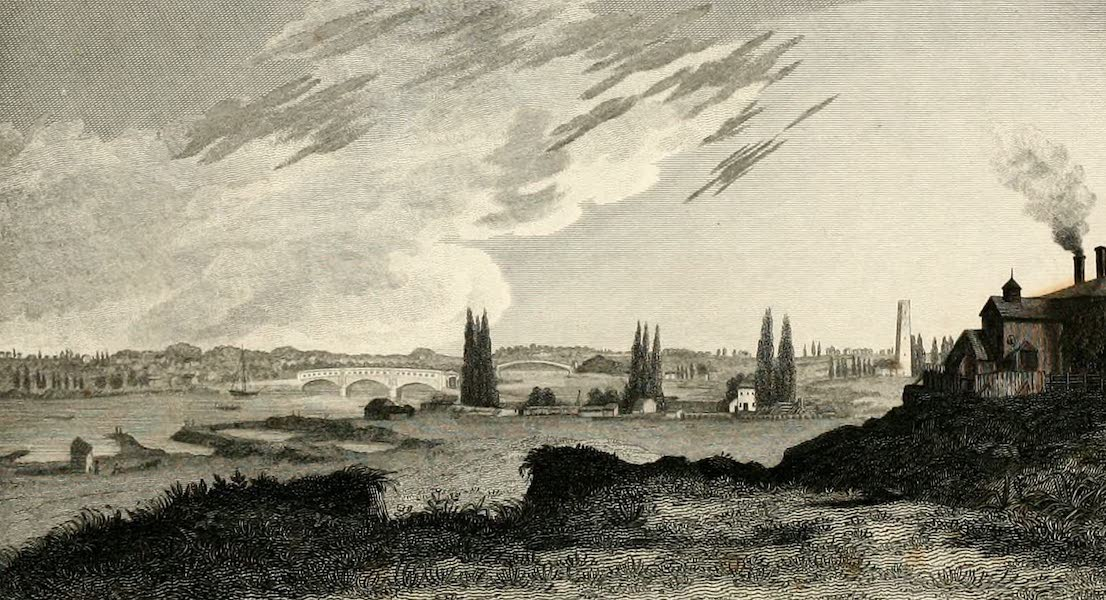 Views in Philadelphia and its vicinity - View on the Schuylkill from the old Water-Works (1827)