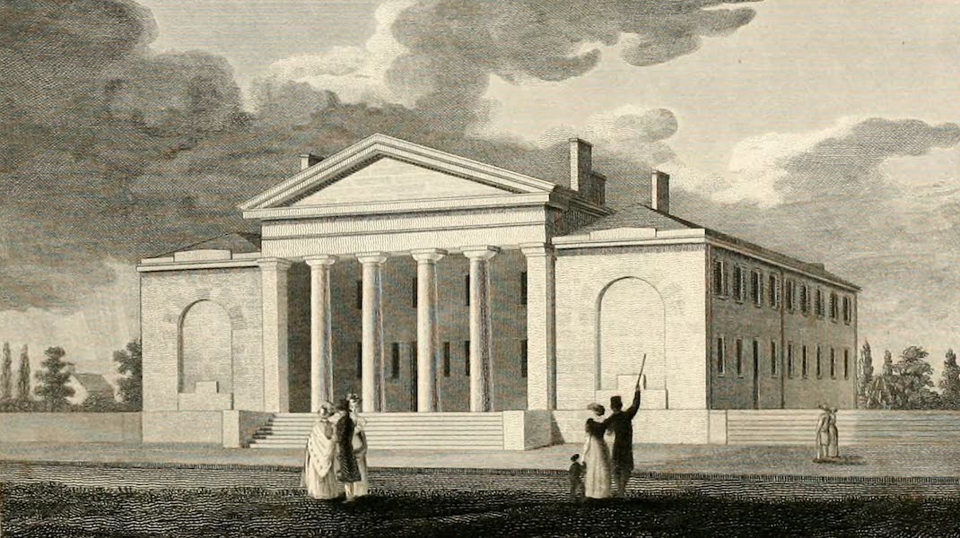 Views in Philadelphia and its vicinity - Pennsylvania Institution for the Deaf and Dumb (1827)