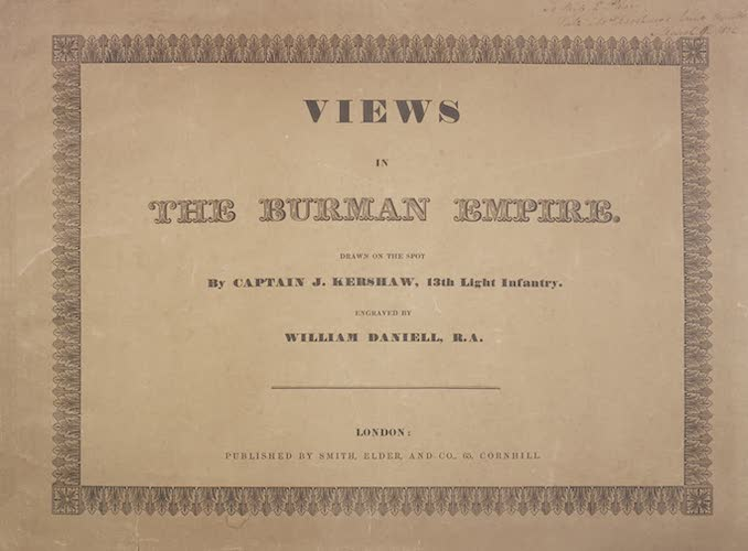 Madras - Views in the Burman Empire