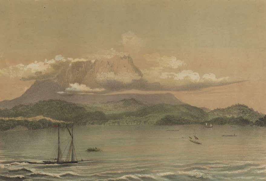 Views in the Eastern Archipelago - Kini-Balu-Mountain. North coast of Borneo (1847)
