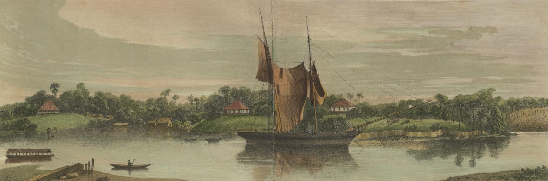 Kuching, Sawawak, Borneo. The settlement founded by James Brooke, Esqr.