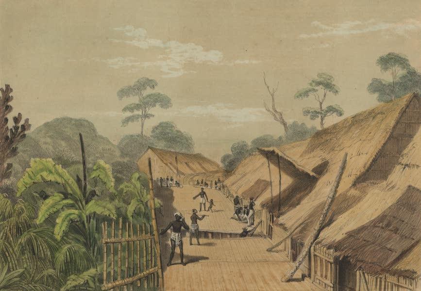 Views in the Eastern Archipelago - Dayak Village, Borneo (1847)