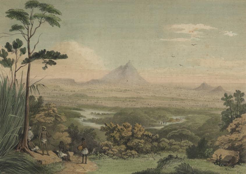 Views in the Eastern Archipelago - View of Santubong Mountain. Sarawak District (1847)