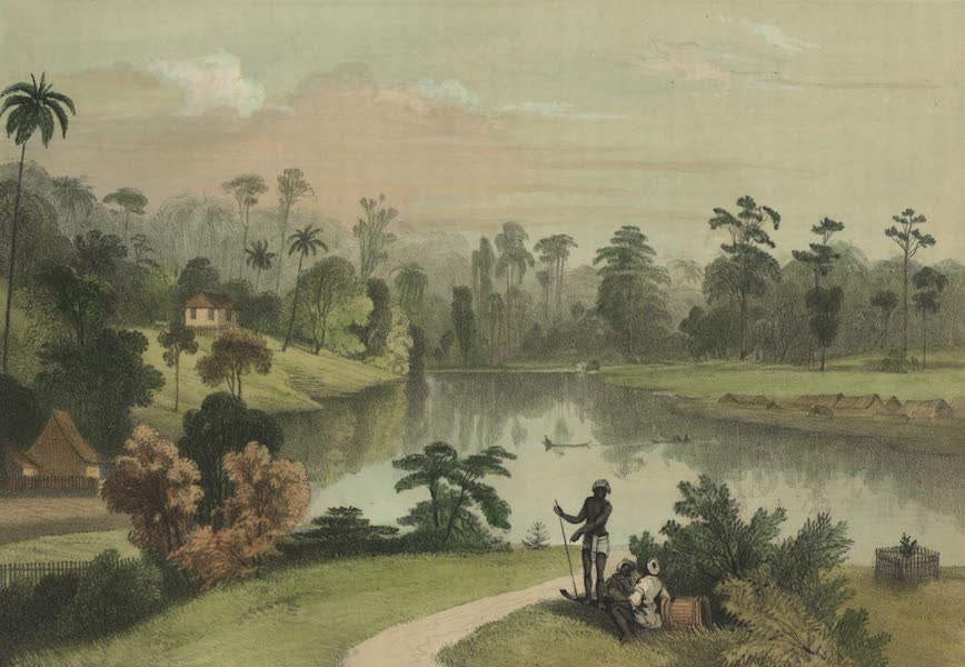 Views in the Eastern Archipelago - View from Mr. Brooke's Bungalow (1847)