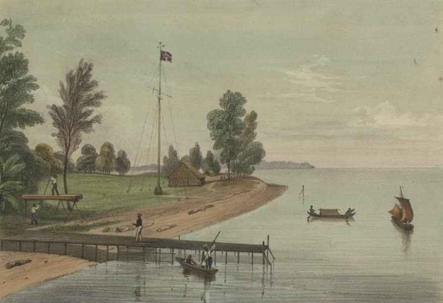 Views in the Eastern Archipelago - Flag Staff Point . Labuan. N.W. coast of Borneo (1847)