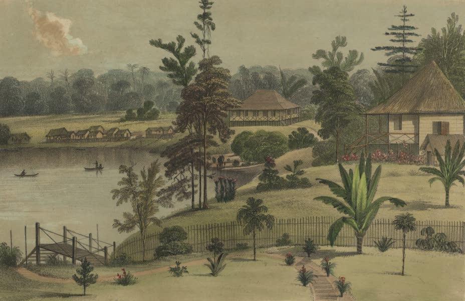 Views in the Eastern Archipelago - Mr. Brooke's Bungalow, Sarawak (1847)