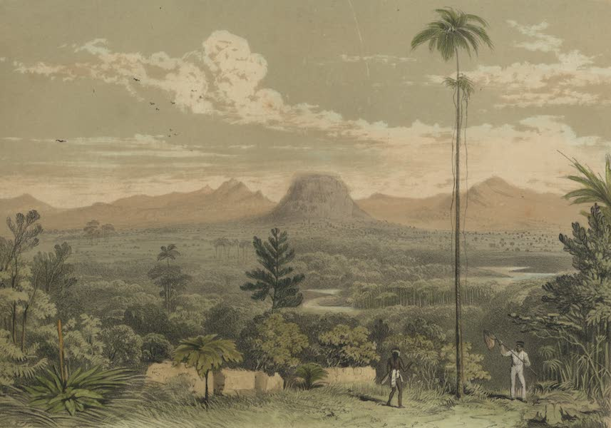 Views in the Eastern Archipelago - View of Singhi Mountain, Sarawak District (1847)