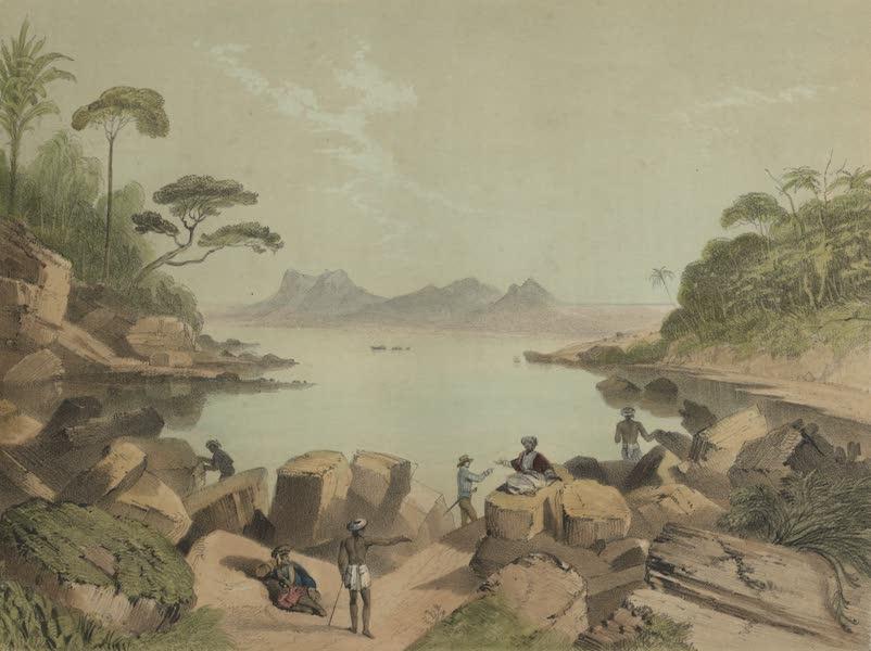 Views in the Eastern Archipelago - Santubong, from Tanjong Po (1847)