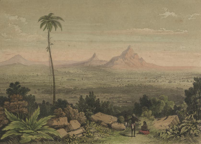 Views in the Eastern Archipelago - View of Matang Mountain. Sarawak District. (1847)