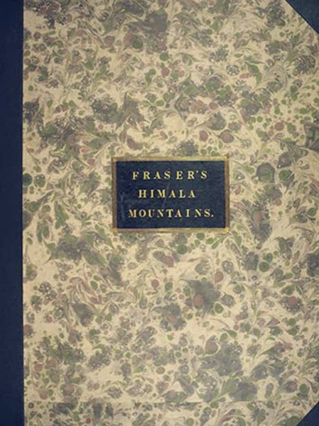 Views in the Himala Mountains - Front Cover (1820)