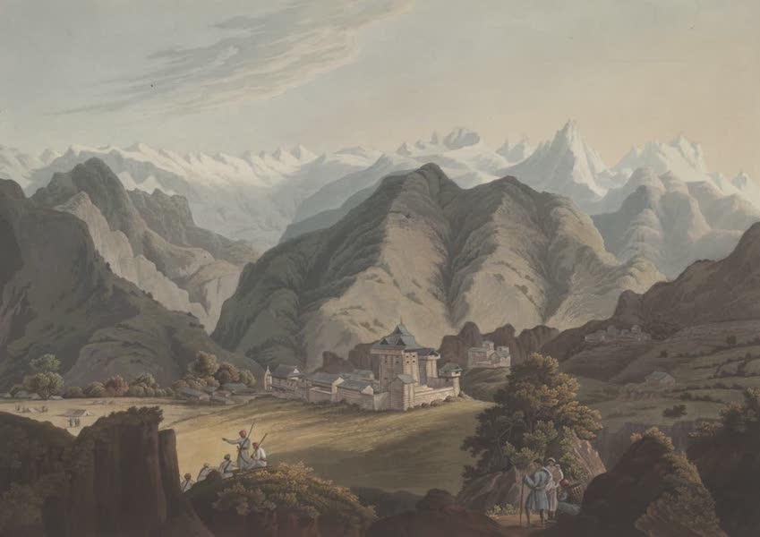 Views in the Himala Mountains - Seran Rajas Palace (1820)