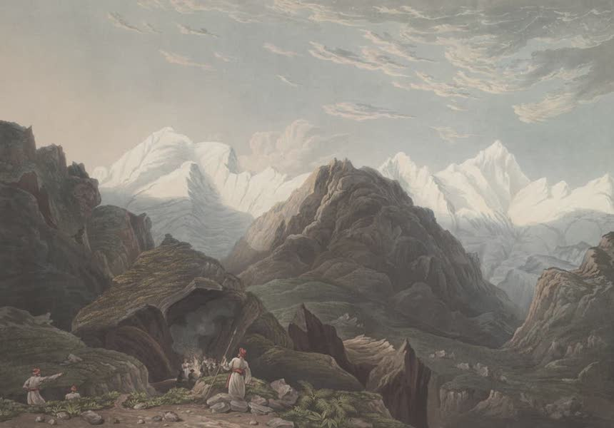 Views in the Himala Mountains - Bheem Ke Udar (1820)