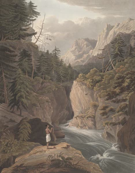 Views in the Himala Mountains - Bhyramghattee (1820)