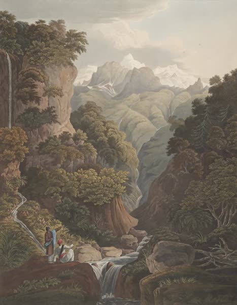 Views in the Himala Mountains - Jumnotree the Source of the River Jumna (1820)