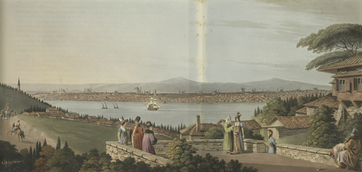 Views in the Ottoman Dominions - View of Constantinople (1810)