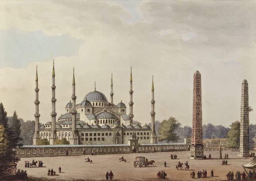 Views in the Ottoman Dominions - Mosque of Sultan Achmet (1810)