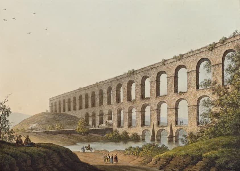 Views in the Ottoman Dominions - Aqueduct near Belgrade (1810)