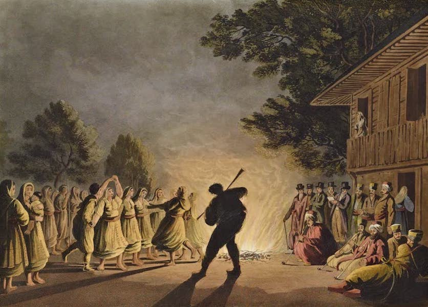 Views in the Ottoman Dominions - Dance of Bulgarian Peasants (1810)